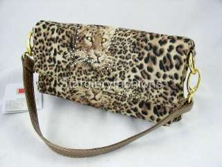 Multi Functions Leopard Print Handbag Purse Four Uses