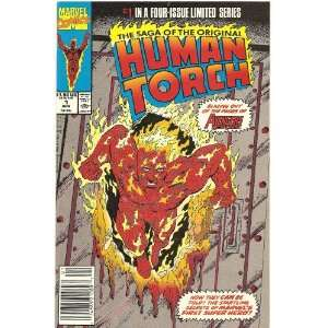 the Original Human Torch #1 (The Lighted Torch) Marvel Comics Books