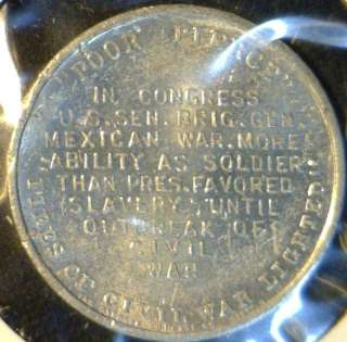 Franklin Pierce MINT Commemorative Medal   Token   Coin