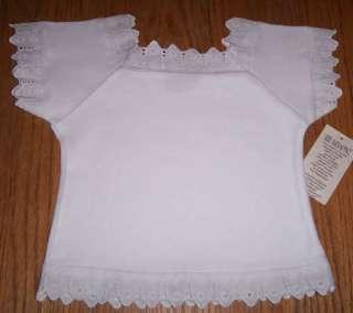 Lace Baby Top T Shirt Peasant Blouse 6pc Wholesale LOT