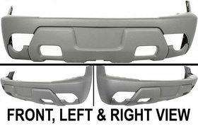 Raw   textured New Bumper Cover Chevy Avalanche Chevrolet 1500 Car
