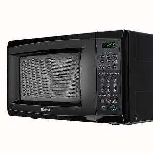 Black 700 Watt 0.7 cu. ft. Counter Top Microwave Oven 69079