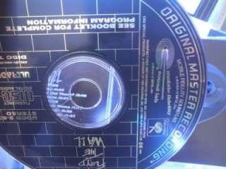 Pink Floyd The Wall   MFSL Ultradisc 24kt Gold plated 2 CD Set