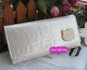 HELLO KITTY LADY LONG WALLET CARD HOLDER BAG PURSE P21W