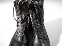 ADDISON Mililtary Lace & Zip Jump Boot Combat 8 Leather Men 9EE 9 EE