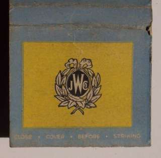 1950s Matchbook Widdicomb Furniture NYC Grand Rapids MI
