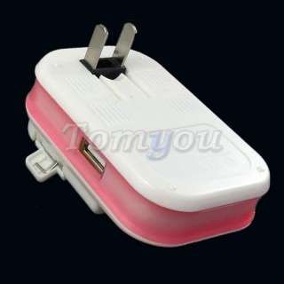 Universal Mobile Cell Phone Camera Battery Wall Travel Charger + USB
