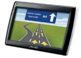 Mio Navman 575 GPS UK Ireland EUROPE Maps IQ ROUTES TMC TRAFFIC Info