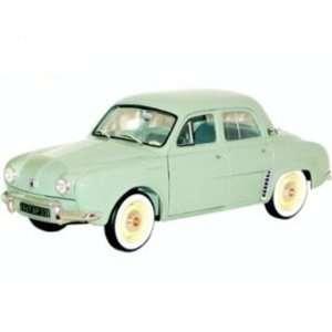 1/18 Scale Renault Dauphine 1958 in Azur Blue Diecast