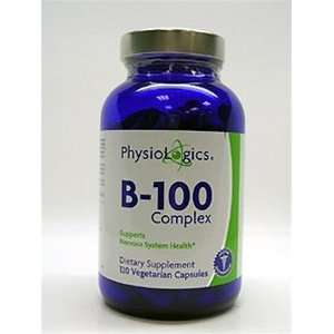 Physiologics   B 100 Complex 100 mg 120 vcaps Health & Personal Care