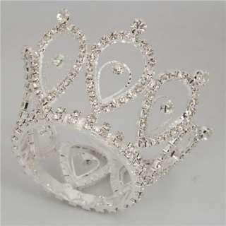 Waterdrop Style Rhinestone Crown Tiara Tiara Wedding Hair Tiara