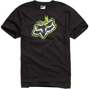 Fox Racing Vamplifier T Shirt   Large/Black Automotive