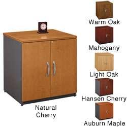 Series C Corsa Mocha Cherry 30 inch Storage Cabinet