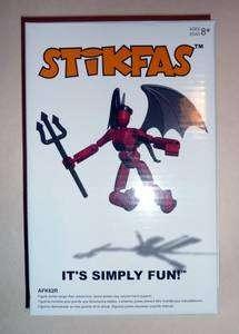 STiKFAS Beta Female Demoness Figure AFK62R (Minimates)
