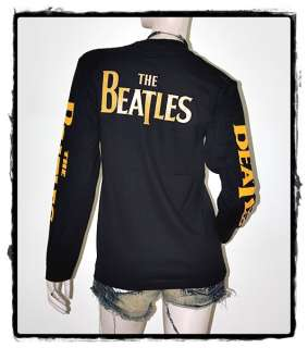 The Beatles John Lennon Punk Rock Unisex Long Sleeve Hoodie Top Shirt