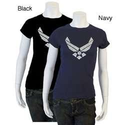 Los Angeles Pop Art Womens Air Force Lyric T shirt