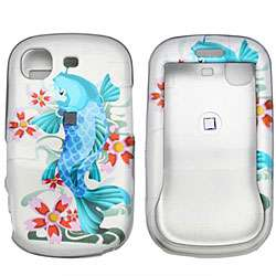 Samsung Strive Blue Koi Fish Snap On Case Cover