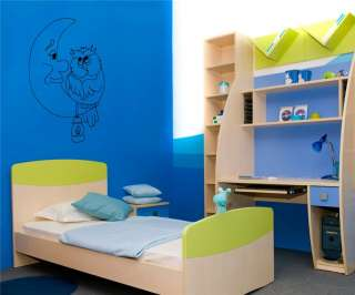 WALL VINYL STICKER MURAL ART DECAL BABY KIDS ROOM NURSERY D516