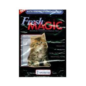 Fresh Magic Original ROUND style Crystal Litter 4 lb Bag