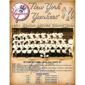 New York Yankees    World Series 1941 New York Yankees