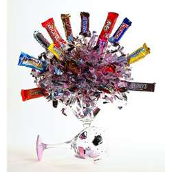 PartyPops Diva Assocorated Chocolate Candy Bouquet  Overstock