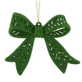 com Holiday Time Green Notes Bow Christmas Ornament Christmas Decor