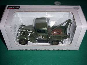 SpecCast 1932 Ford US Army WW II tow truck/wrecker