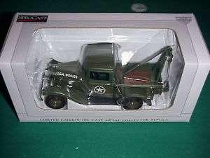 SpecCast 1932 Ford US Army WW II tow truck/wrecker |