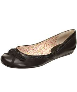 Report Natalia Womens Black Ballet Flats