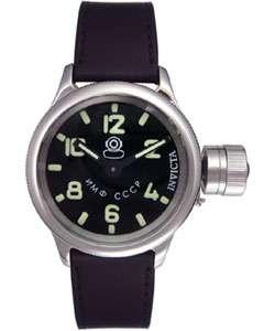 Invicta Russian Diver 1959 Mens Black Strap Watch