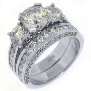 CARAT DIAMOND ENGAGEMENT RING WEDDING BAND BRIDAL SET ROUND CUT