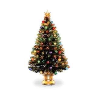 Firework Splendor Fiber Optic Tree Christmas Decor