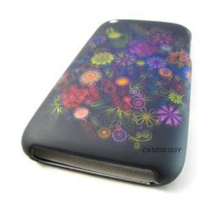 ELEGANT COLORFUL FLOWER HARD CASE COVER APPLE IPHONE 3G 3GS S PHONE
