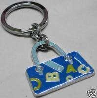 women HEAVY DUTY purse handbag keychain key ring new