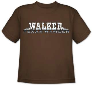 Youth Walker Texas Ranger Walker Logo T Shirt at AllPosters