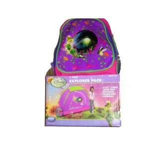 Disney Fairies Tinker Bell 4 Piece Explorer Camping Pack Toys & Games