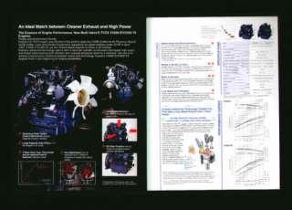 Kubota V3300 E/V3300 TE Diesel Engine Brochure nr mint