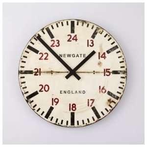 Room Decor Wooden Wall Clock, Tube Station Wall Clock