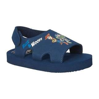 TOY STORY BUZZ & WOODY Beach / Pool Summer Sandals NWT