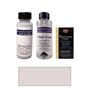 Oz. Astro Silver Metallic Paint Bottle Kit for 1991 Pontiac Lemans