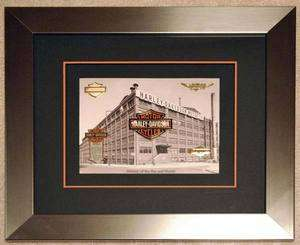 HARLEY DAVIDSON® FRAMED BAR & SHIELD HISTORY LIMITED EDITION PIN SET