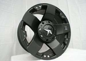 20 Inch XD Rockstar Wheels Rim & Tire Package 5 6 Lug