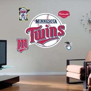 Minnesota Twins Team Logo Fathead Wall Sticker
