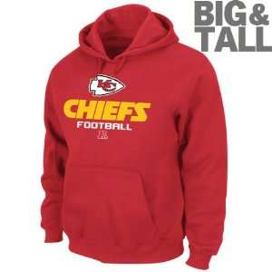 Kansas City Chiefs Big & Tall Critical Victory V Hooded