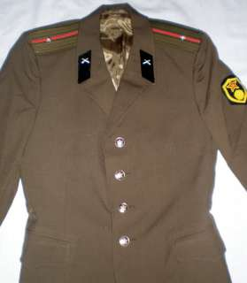 Vintage Soviet Russian Military Army Officer Suit USSR