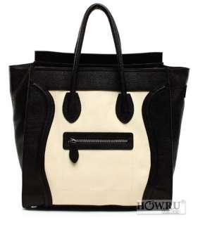 Gossip Girl REAL Leather Luggage Tote Smile Bag Handbag