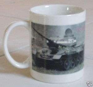 RUSSIAN ARMY WW2 WWII T34/85 COFFEE MUG