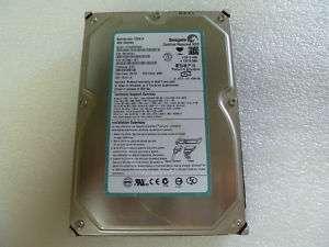 SEAGATE BARRACUDA 7200.8 400GB SATA DESKTOP HARD DRIVE 537000612334