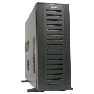 01B B OP Bravo Extended Mid Tower Chassis (black) w/o PSU: Electronics