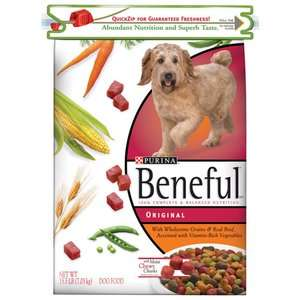 Beneful Original Quick Zip Dog Food, 15.5 lb Dogs